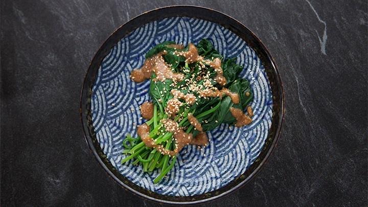 EG6 EP25 Japanese-Spinach-Salad-720x405