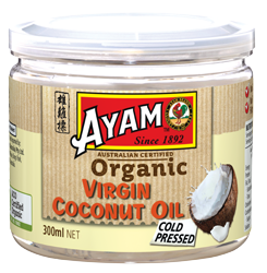 Organic Virgin Coconut Oil 300ml