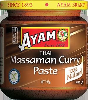 2D massaman curry paste