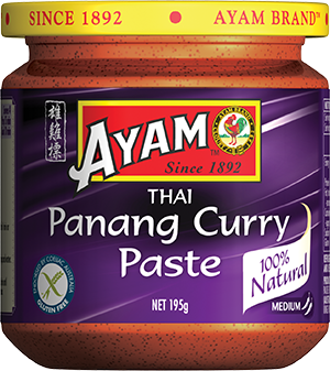 2D panang curry paste