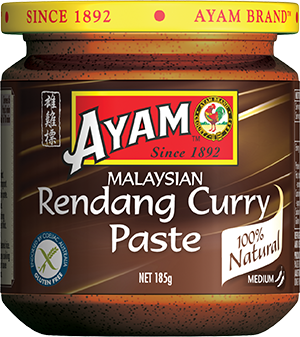 2D rendang curry paste