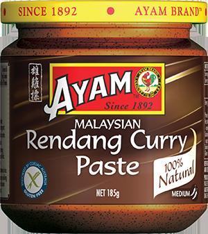 2D rendang curry paste