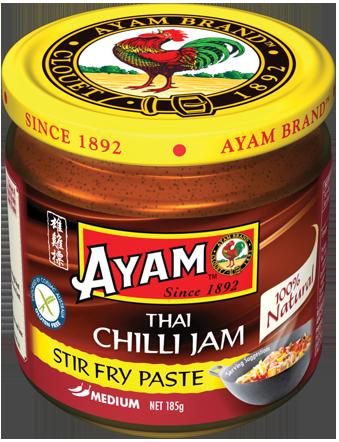 185g Jar Paste Chilli Jam