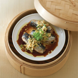 Ginger Steamed Sardines