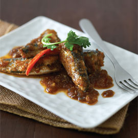 Lemongrass Glazed Sardines