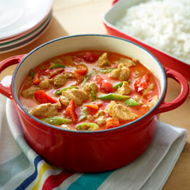 Panang Chicken Curry Slow Cooked