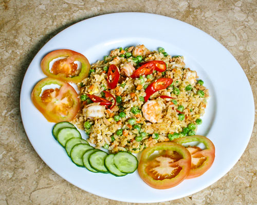 TUNA FRIED RICE