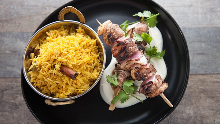 EG6 EP61 LUV-A-DUCK Pickled-Rice-with-Duck-Kebabs-720x405