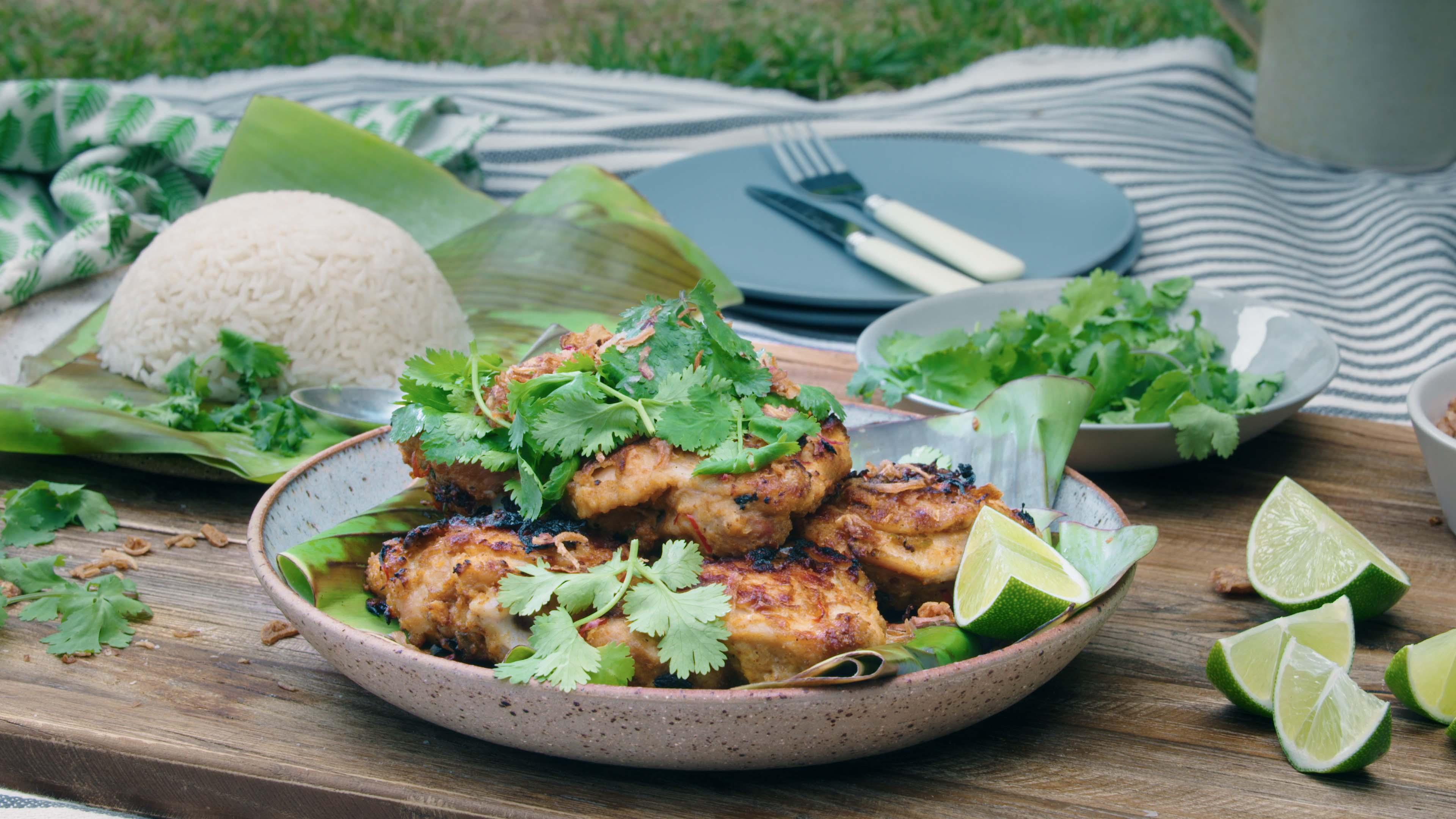 Malaysian BBQ Chicken