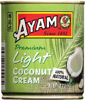 2D light coconut cream 270ml